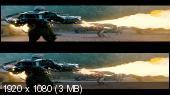 Первый мститель 3D / Captain America: The First Avenger 3D (2011) BDRip 1080p / 12.0 Gb [Half OverUnder / Вертикальная анаморфная стереопара]