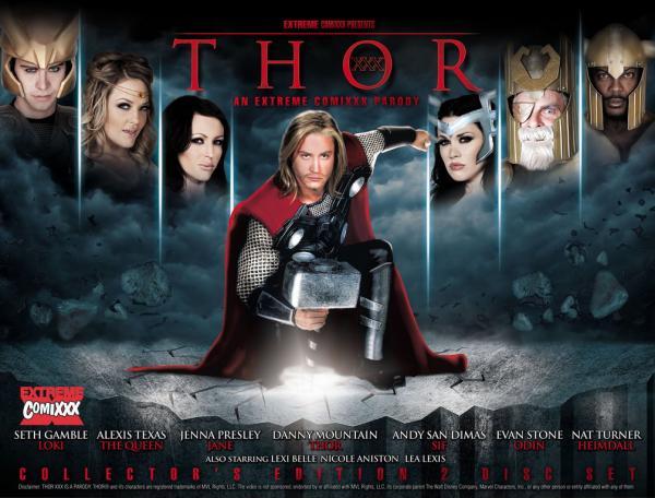 Thor XXX : An Extreme Comixxx Parody / Тор, XXX Пародия (Pleasure Dynasty)