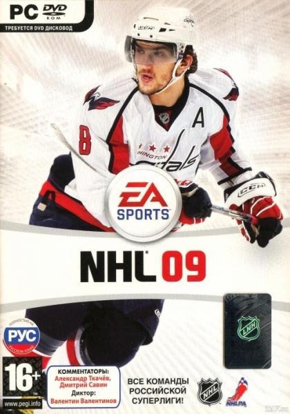 NHL 09 [L] [RUS / ENG] (2008)
