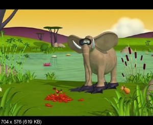 Газун: Звериные приключения / Gazoon (2007) DVD5