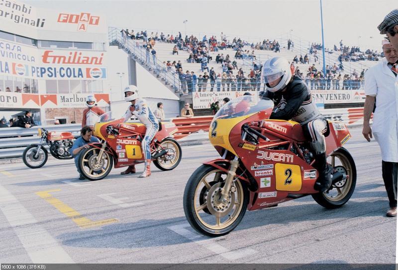 40-ый юбилей успеха Ducati в Imola 200 (1972)