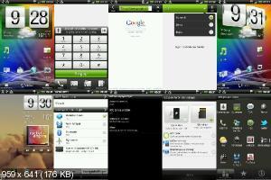 RCMix3d Runny v4.0 - Прошивка Android 2.3.5 для HTC Desire HD