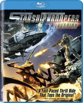 Звездный десант: Вторжение / Starship Troopers: Invasion (2012) BDRip 1080p