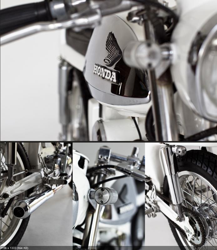 Кафе рейсер Honda Sport 90