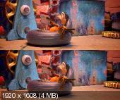 От винта в 3Д / 3D  Вертикальная