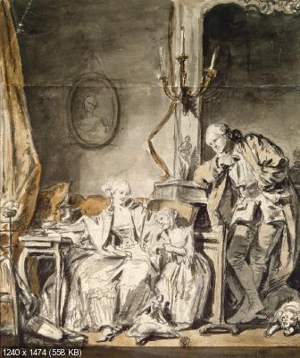 Большая коллекция картин из архива - Эрмитаж (Часть I)