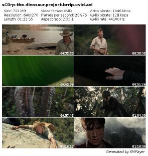The Dinosaur Project (2012) BRRip.XviD-sC0rp   Napisy PL + X264