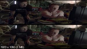 Санктум в 3Д / Sanctum 3D (2011) BDRip 1080p / 19.9 Gb [Half OverUnder / Вертикальная анаморфная стереопара]